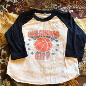 Okc thunder shirt size 4 kids